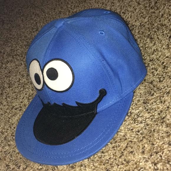 89025f6583c0 Cookie Monster Flat Bill Hat